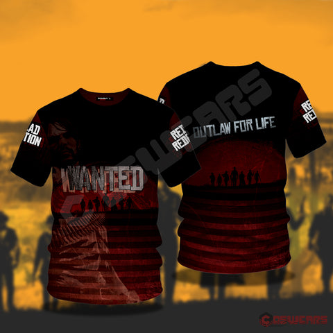 Red Dead Redemption : Wanted T-Shirt