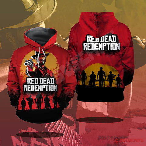 Red Dead Redemption Pullover Hoodie