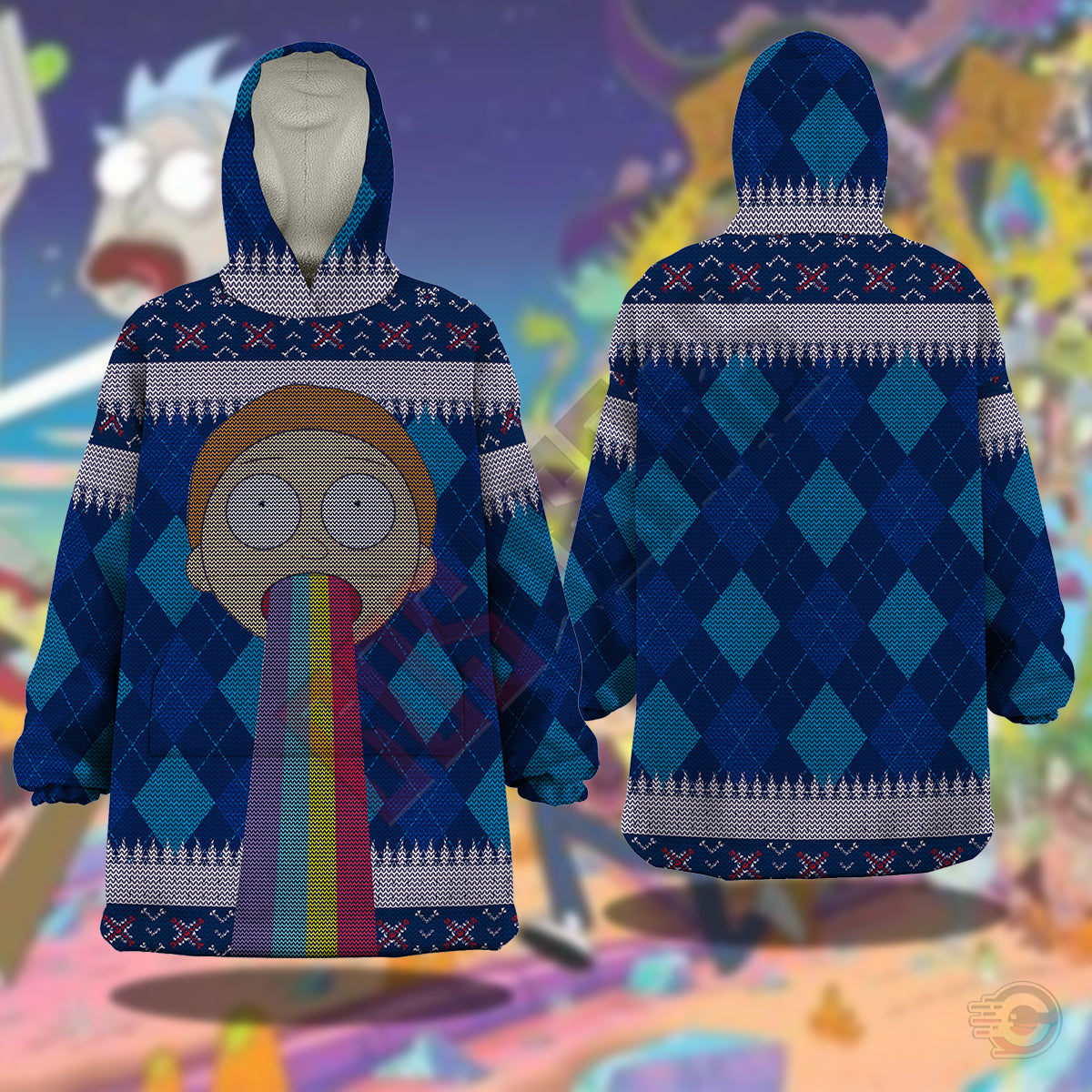 Rick and Morty : Morty Rick Snug
