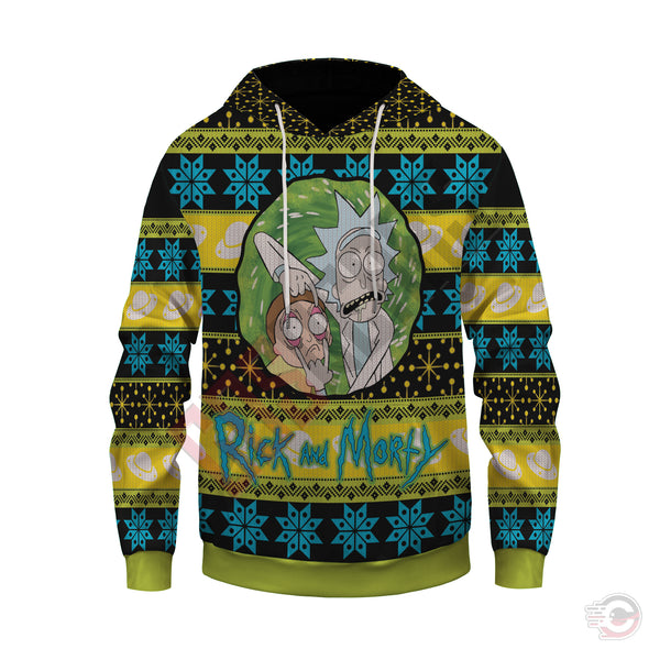 Rick and Morty : Rick Pullover Hoodie