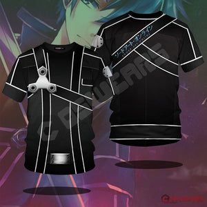 Sword Art Online: Kirito Inspired T-Shirt