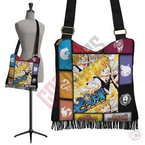 Seven Deadly Sins : Nanatsu no Taizai Boho Bag
