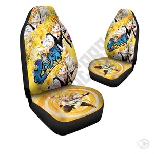 Seven Deadly Sins : Nanatsu no Taizai Car Seat Cover