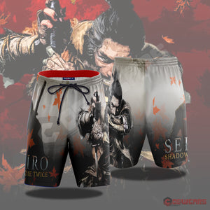 Sekiro: Seki Inspired Beach Shorts