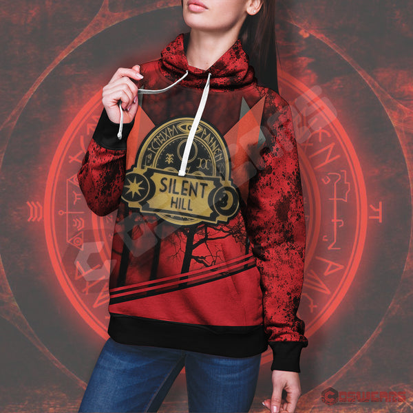 Silent Hill Save Logo Pullover Hoodie