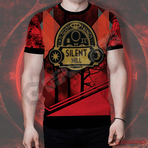 Silent Hill Save Logo T-Shirt
