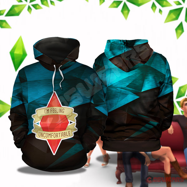 Sims : Uncomfortable Pullover Hoodie