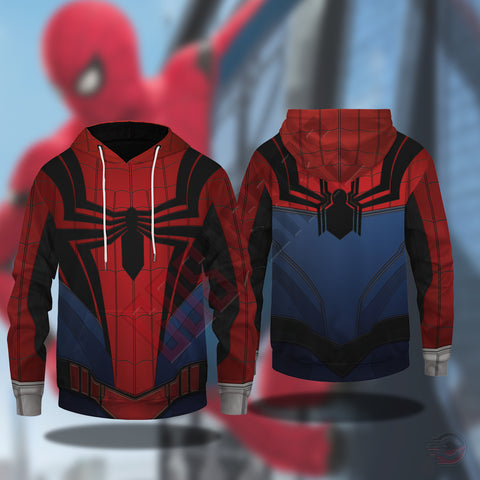 Spiderman Far From Home Suit Pullover Hoodie
