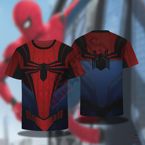 Spiderman Far From Home Suit T-Shirt