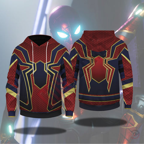 Spiderman Far From Home :  Iron Suit Pullover Hoodie