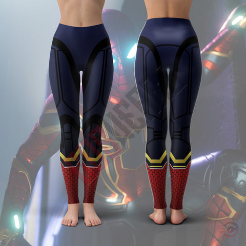 Spiderman Far From Home :  Iron Suit Leggings