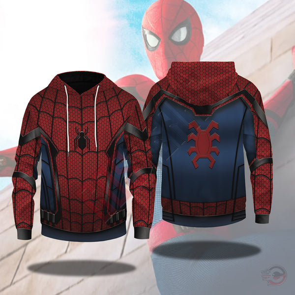 Spiderman Far From Home Outfit Pullover Hoodie