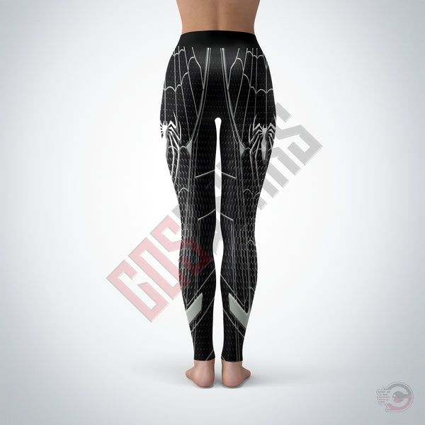 Spiderman Far From Home Black Suit Leggings