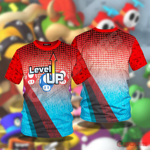 Super Mario Odyssey: Level Up T-Shirt