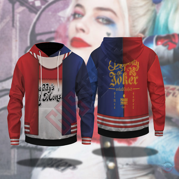 Suicide Squad : Harley Quinn Pullover Hoodie