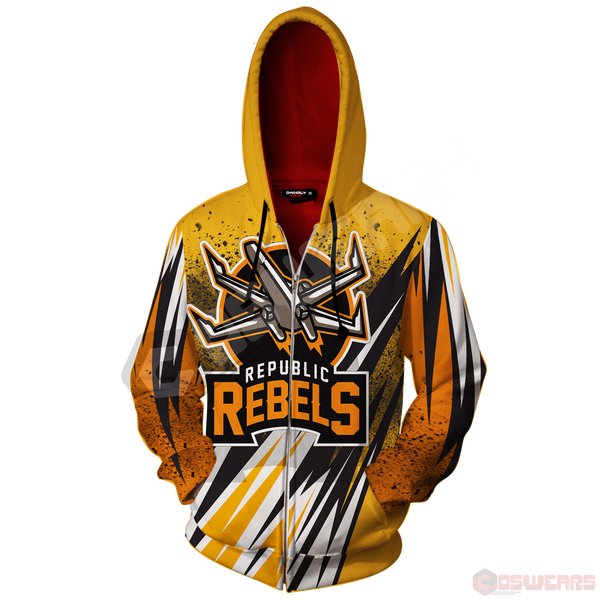 Star Wars - Republic Rebels Zipped Hoodie