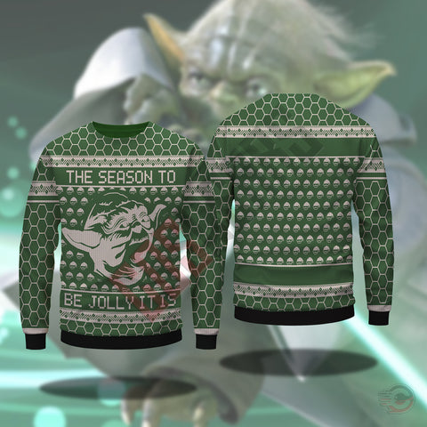 Star Wars Holiday : Yoda Sweatshirt