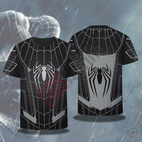 Spiderman Far From Home Black Suit T-Shirt