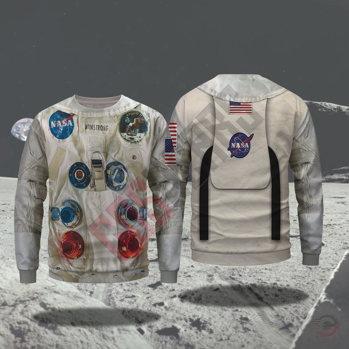 3d Suits : Armstrong Suit NASA Sweatshirt