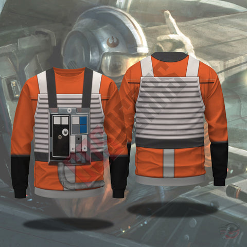 Space Suit Collection : X Wing Pilot Suit Sweatshirt