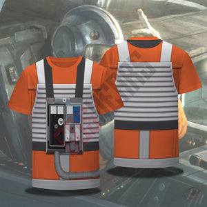 Space Suit Collection : X Wing Pilot Suit T-Shirt