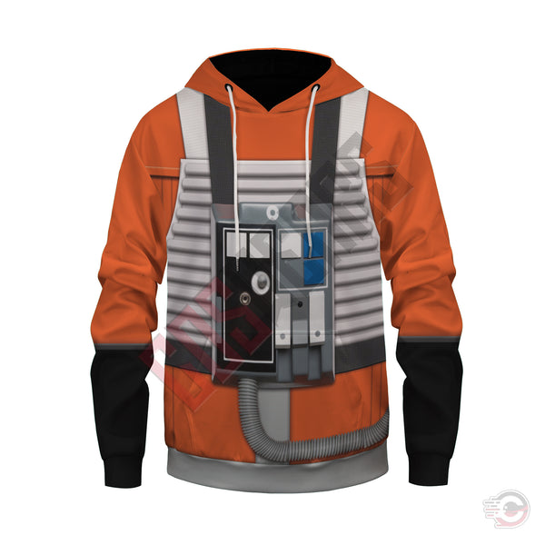 Space Suit Collection : X Wing Pilot Suit Pullover Hoodie