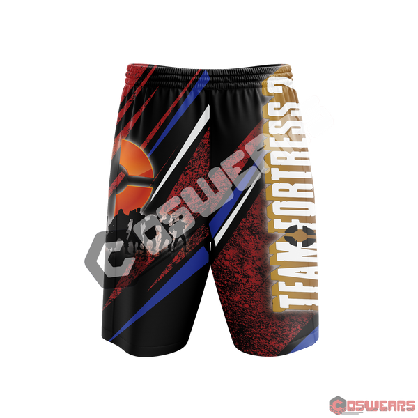 Team Fortress Inspired Beach Shorts