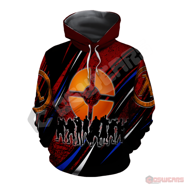 Team Fortress Inspired Pullover Hoodie