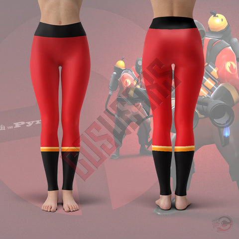 Team Fortress : Pyro Team Fortress Leggings
