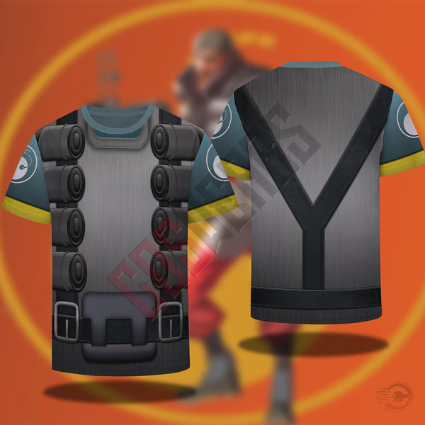 Team Fortress : Demoman Team Fortress T-Shirt