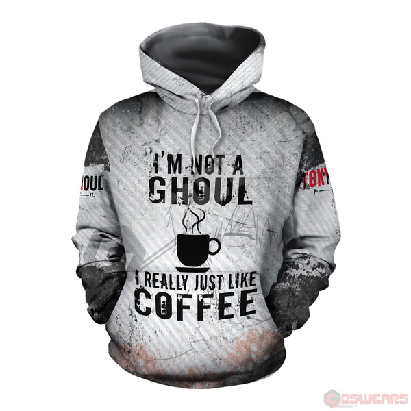 Tokyo Ghoul : I'm Not A Ghoul Pullover Hoodie