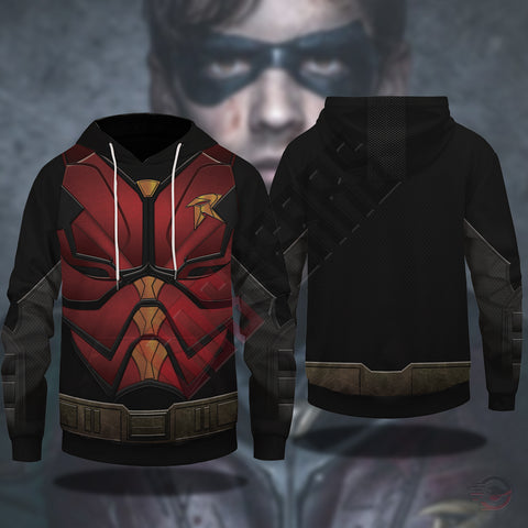 Titan Collection : Robin Pullover Hoodie