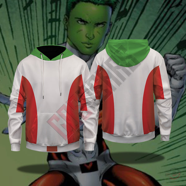 Titan Collection : Beast Boy Pullover Hoodie