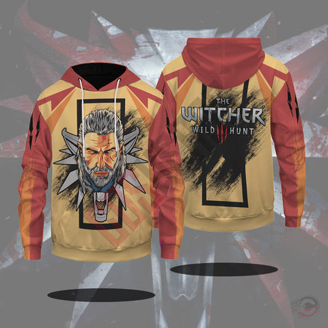 The Witcher Trash Polka Pullover Hoodie