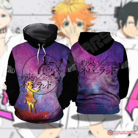 The Promised Neverland : Neverland Inspired Pullover Hoodie