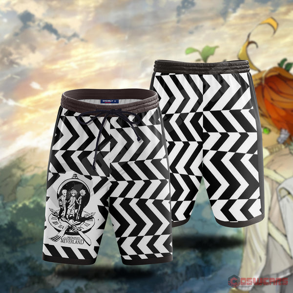 The Promised Neverland Inspired Beach Shorts