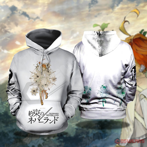 The Promised Neverland Inspired Pullover Hoodie