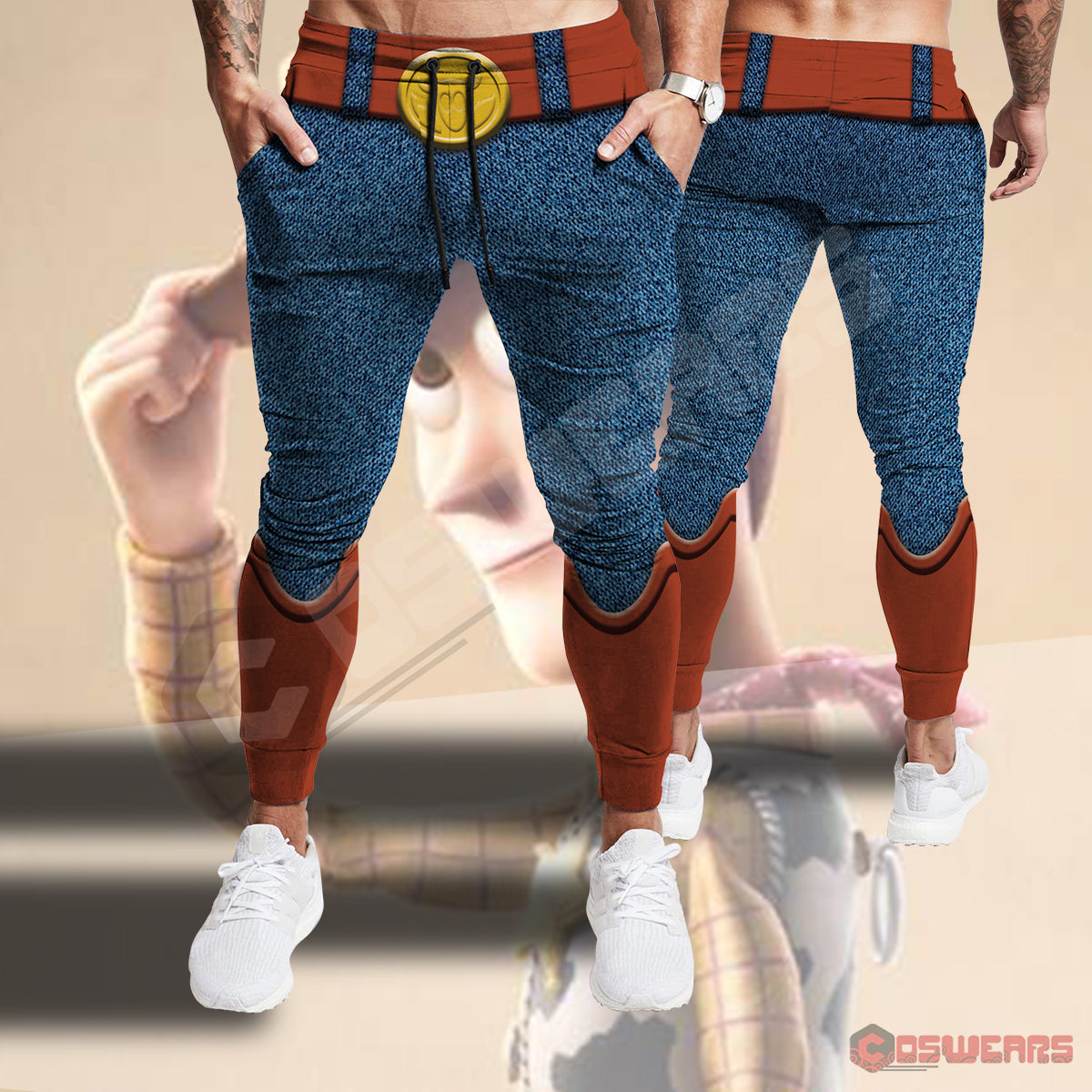 Toy Story : Woody Inspired Joggers