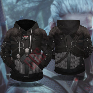The Witcher : Wild Hunt Armor Pullover Hoodie