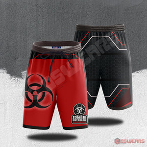 The Walking Dead : Zombie Outbreak Beach Shorts