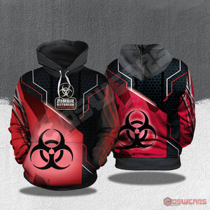 The Walking Dead : Zombie Outbreak Pullover Hoodie