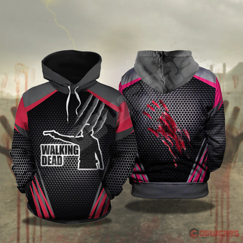 The Walking Dead : Rick Grimes Pullover Hoodie