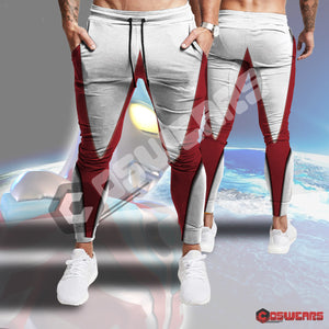 Ultraman Red Inspired Joggers