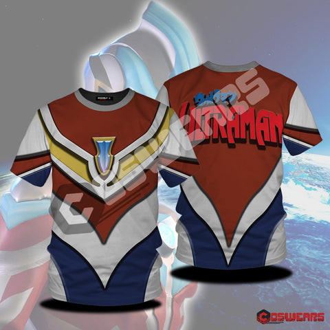 Ultraman Blue Inspired T-Shirt