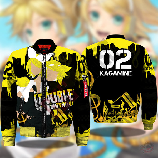 Vocaloid : Kagamine Twins Bomber Jacket