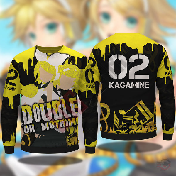 Vocaloid : Kagamine Twins Sweatshirt