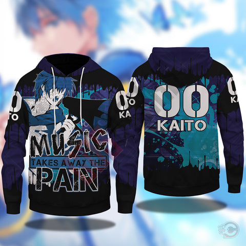 Vocaloid : Kaito Pullover Hoodie