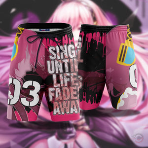 Vocaloid : Megurine Luka Beach Shorts