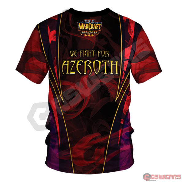 Warcraft : Azeroth Inspired T-Shirt
