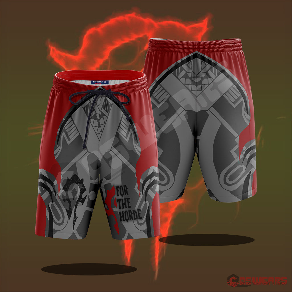 Warcraft : For The Horde Beach Shorts